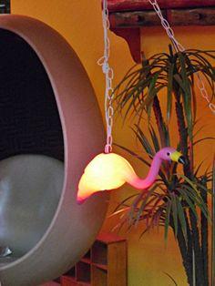 Lawn Flamingo pendant lamp - for bathroom?