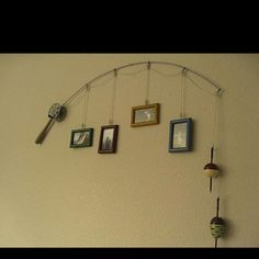 Dating site Penty of Fish profile pics.  Lol. ....or boy's room decor.  I like the first thought.  Haha what a catch!!!