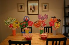 party decorations ideas sesame street birthday party ideas happy birthday idea 1080x720