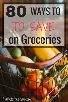 If you are looking for ways on how to save money on groceries, look no further…