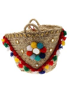 Trendy Beachwear for the Summer Muzungu Sisters Woven Basket Discovred by : Azza Shesheny My Style Bags, Diy Sac, Ethnic Bag, Ibiza, 2015 Fashion Trends, Boho Bags, Basket Bag, Summer Bags, Coral Turquoise