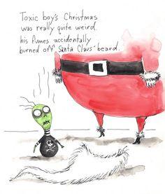 Season's Greetings with Tim Burton Art
