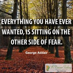 There are six fears you don't need in #recovery -the fear of being alone, the fear of making a mistake, the fear of not having what it takes, the fear of failure, the fear of success, and the fear of living. Move to the other side of fear and live the #life you wanted. #motivational #quotes