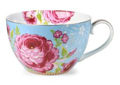 Pip Studio Blue giant flower cup
