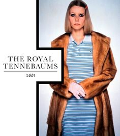 Gwyneth Paltrow as Margot Tenenbaum, The Royal Tenenbaums I'm gonna start dressing like this. Only with fake fur of course. And I'm not gonna cut off a finger. Gwyneth Paltrow, Wes Anderson Characters, Wes Anderson Movies, Halloween Costumes 2014, Halloween Kostüm, Halloween Tricks, La Famille Tenenbaum, The Royal Tenenbaums, Tr 4
