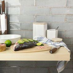 Ivy Hill Tile Moze x Ceramic Subway Tile Ceramic Tile Backsplash, Ceramic Subway Tile, Glass Subway Tile, Wall Tiles, Backsplash Ideas, Kitchen Tiles, Kitchen Flooring, Kitchen Stuff, Kitchen Decor