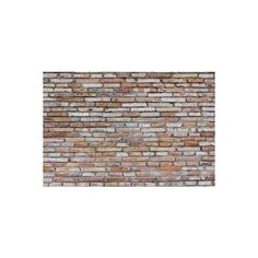 A bare and exposed brick wall ideal for backgrounds ❤ liked on Polyvore featuring backgrounds, walls, brick, brick wall and wallpaper