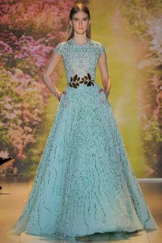 Sophie and Anna's Blog: Spring 2014 Couture - Zuhair Murad and Alexis Mabille