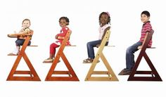 enzi chair - converts from baby chair to kids chari