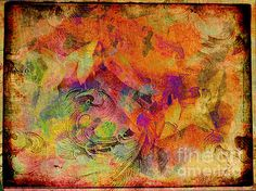 Leaflorn Tapestry by Meghan at FireBonnet Designs #art #abstract #homedecor