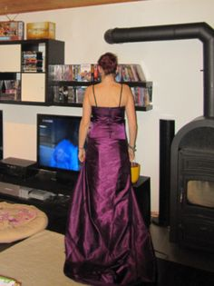 Evening dress, work in progress