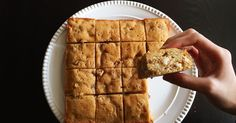 Fueling with Flavour: Browned Butter Blondies