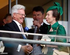 Sir Alan Duncan and Princess Anne The Princess Royal attend day 3 Ladies Day of Royal Ascot at Ascot Racecourse on June 22 2017 in Ascot England