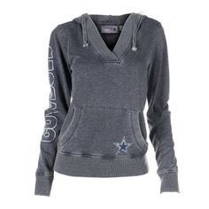 NFL Shop Dallas Cowboys Ladies Magnolia Hoodie - Navy Blue $49.95