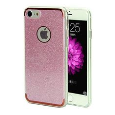 $4.05 (55% Off) on LootHoot.com - iPhone 7 Case,REENUO [Bling Crystal] [Ultra Thin] [Ultra Light]Sparkle Case for iPhone 7 4.7 inch Pink