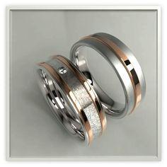 Argollas de boda personalizadas, oro de 14k o 18k con huella digital #wedding #rings #gold #diamonds #fingerprint