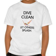 TOP Dive Clean T Shirt