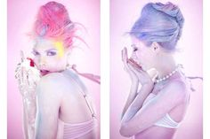 49 Candy-Themed Photoshoots - From Cakeland Couture Images to Youthful Prop Editorials (CLUSTER)