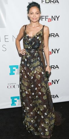 Look of the Day - December 4, 2014 - Nicole Richie in Vera Wang from #InStyle