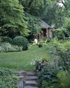 Love this.  I want an overgrown garden like this.  Not quite as manicured as this but yeah