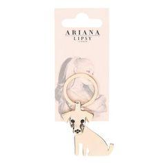 Ariana Grande for Lipsy Puppy Keyring