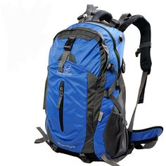 JL DEPOT Waterproof Outdoor Hiking Climbing Backpack Hiking Backpack Daypack with Waterproof Cover Mountaineering Bag Backpack Unisex High-Capacity Travel Bag_á™Blue_ᐠ>> Discover this special outdoor gear, click the image : Day backpacks Tactical Backpack, Hiking Backpack, Backpack Bags, Climbing Backpack, Day Backpacks, Camping And Hiking, Outdoor Woman, Mountaineering, North Face Backpack
