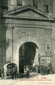 LERIDA - 74 ARCO MONUMENTAL DE ENTRADA A LA CIUDAD - Foto 1