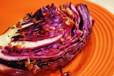 Oven Roasted Cabbage Wedge Recipe – 2 Points + - LaaLoosh