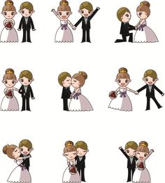 Cartoon Images Of Wedding