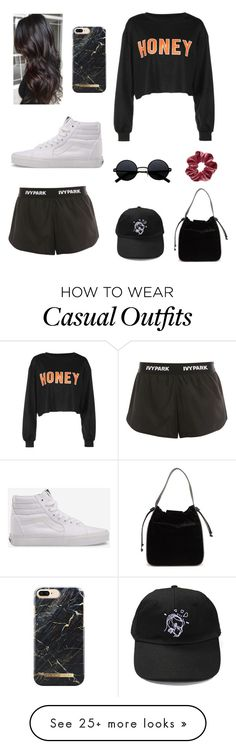 """Casual Summer Lunch"" by aquariose on Polyvore featuring French Connection, Ivy Park and Vans"