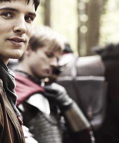 Colin Morgan / Merlin, Bradley James / Arthur