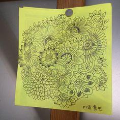 botanical doodle
