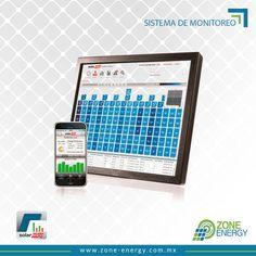 Sistema de monitoreo en tiempo real, produccion del sistema y cada uno de los modulos. #Solar Edge #ZoneEnergy #EnergiaSolarLosCabo Solar Power System