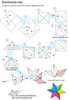 Diagram for Dominanta Star unit by Lukasheva Ekterina