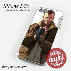 GTA IV Phone case for iPhone 4/4s/5/5c/5s/6/6 plus