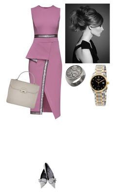 """""""Untitled #409"""" by amory-eyre ❤ liked on Polyvore featuring Lattori, Gucci, Furla and Longines"""