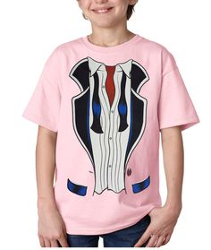 Kids Tuxedo T-Shirt Printed Youth After Hours Tux from $10.99 at xpressiontees.etsy.com | #ExpressionTees