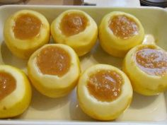 Pumpkin stuffed apples