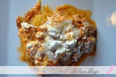 Spaghetti Squash Lasagna in the Crock Pot | Chelsea Blogs