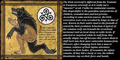 Irish Werewolf Legend