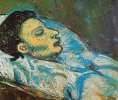 Picasso (1881-1973, Spain) | the Death of Carles Casagemas