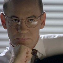 "The Season 1 episode ""Tooms"" had many ""firsts."" Mitch Pileggi appeared for the first time as Walter Skinner, the first time William B. Davis spoke as Cigarette-Smoking Man, and the first time a Monster-of-the-Week character is given a follow-up episode. 