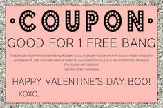 Printable Cute & Funny Valentine's Day Coupon by LilygramDesigns, $4.25