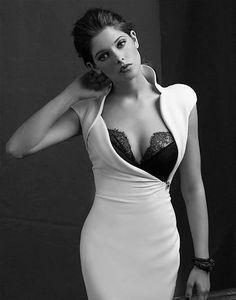 Ashley Greene looking glamorous in an Antonio Berardi dress