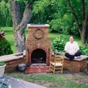 Small Outdoor Brick Fireplaces Related Post From Diy