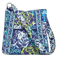 """LISTING Vera Bradley Hipster Crossbody This Katalina Blues Slim Crossbody provides hands free functionality. Has adjustable strap for comfort and customization. 1 slip and 1 zip pocket on the front and 1 zip pocket on the back of the bag. 3 interior slip pockets. Has 52"""" adjustable strap 1-14-16 Vera Bradley Bags Crossbody Bags"""