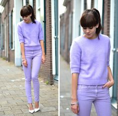 (cute) Lilac (by Lucy De B.) http://lookbook.nu/look/4011788-Lilac