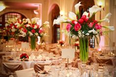 LILLY AND ROSE CENTER PIECE