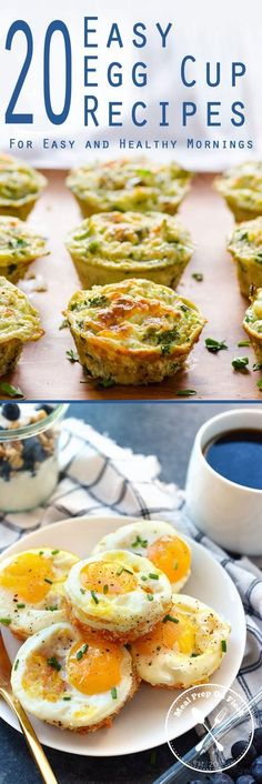 20 egg cup recipes preheated 375 degrees F oven for 18-25 minutes