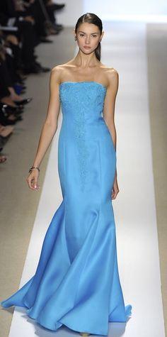 "Badgley Mischka-beautiful blue.  ✮✮""Feel free to share on Pinterest"" ♥ღ www.fashionandclothingblog.com"